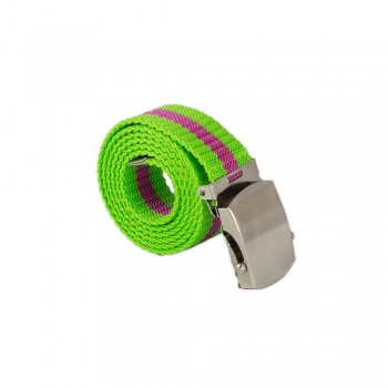 Ζώνη πράσινο φωσφοριζέ με ρίγα 30mm