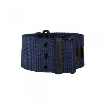 Ζώνη μπλε σκούρο 57mm