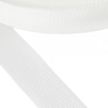 Ιμάντας συνθετικός λευκός 40mm