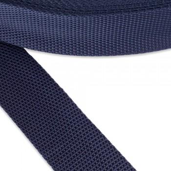 Ιμάντας συνθετικός μπλε σκούρο 40mm
