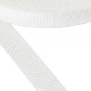 Ιμάντας συνθετικός λευκός 30mm