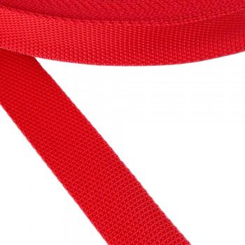 Ιμάντας συνθετικός κόκκινος 30mm