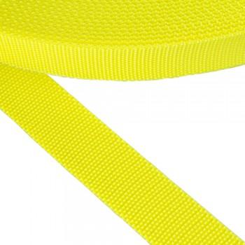 Ιμάντας μαλακός κίτρινος φωσφοριζέ 30mm