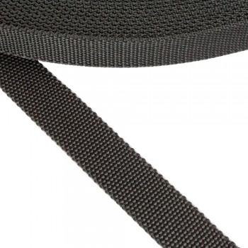 Ιμάντας μαλακός μαύρος 25mm