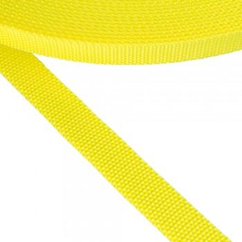 Ιμάντας μαλακός κίτρινος φωσφοριζέ 20mm