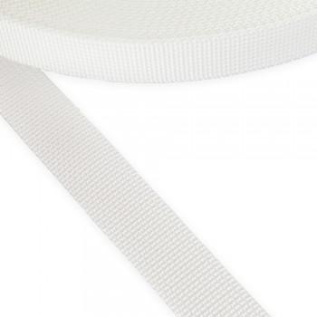 Ιμάντας σκληρός λευκός 25mm