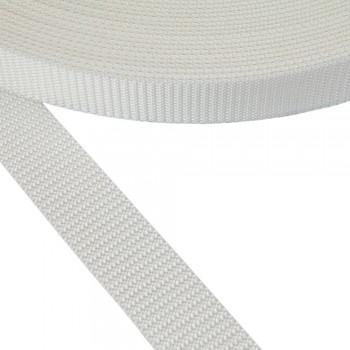 Ιμάντας ζώνης λευκός 30mm