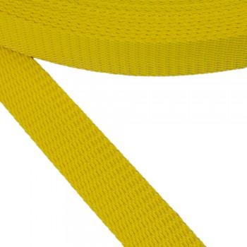 Ιμάντας ζώνης κίτρινος 30mm