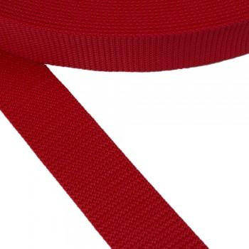 Ιμάντας ζώνης κόκκινος 40mm