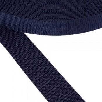 Ιμάντας ζώνης μπλε σκούρο 40mm