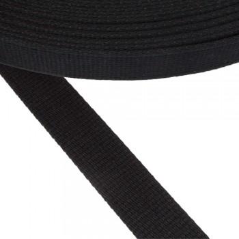 Ιμάντας ζώνης μαύρος 30mm