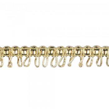 Τρέσα μεταλιζέ χρυσή 15mm