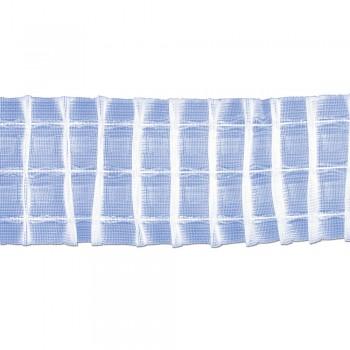 Κουρτινοθηλιά με συνεχόμενη πιέτα διάφανη 80mm