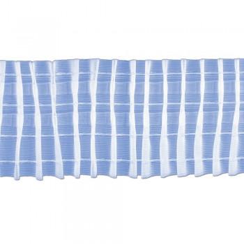Κουρτινοθηλιά με συνεχόμενη πιέτα διάφανη 100mm
