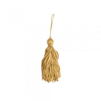 Φουντάκι απλό χρυσό 8cm