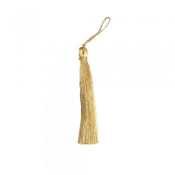 Φουντάκι χρυσό ανοιχτό 11cm