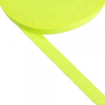 Φακαρόλα κίτρινη φωσφοριζέ συνθετική 20mm