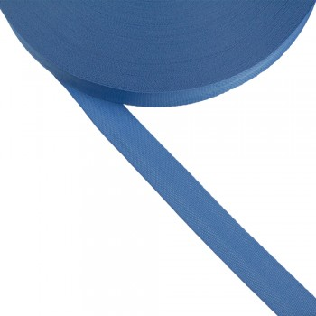 Φακαρόλα γαλάζια συνθετική 20mm
