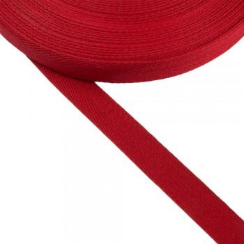 Φακαρόλα κόκκινη συνθετική 20mm