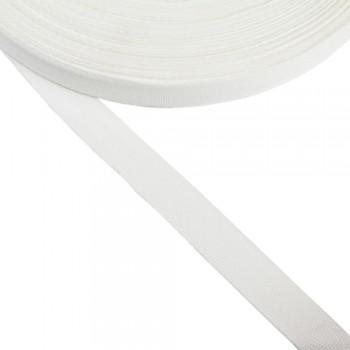 Φακαρόλα λευκή συνθετική 20mm