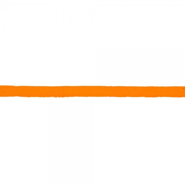 Κορδέλα γκρο πορτοκαλί φωσφοριζέ 10mm
