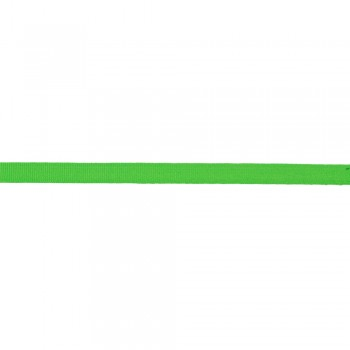 Κορδέλα γκρο πράσινη φωσφοριζέ 10mm