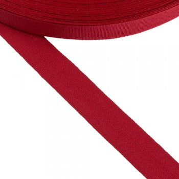 Κορδέλα γκρο κόκκινη 20mm