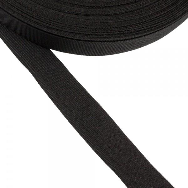 Κορδέλα γκρο μαύρη 15mm