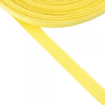 Κορδέλα γκρο κίτρινη 15mm