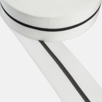 Ρέλι μούλτι λευκό ρίγα 50mm