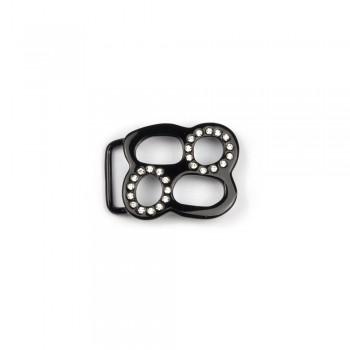 Αγκράφα μαύρο 30mm