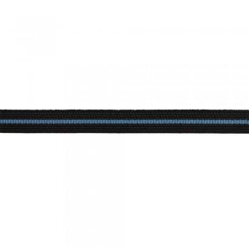 Κορδέλα ραιγιόν μαύρη 8mm