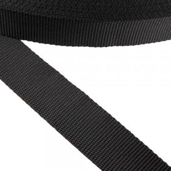 Ιμάντας συνθετικός μαύρος 35mm