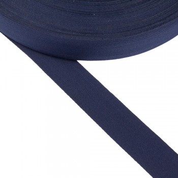 Φακαρόλα βαμβακερή μπλε 30mm
