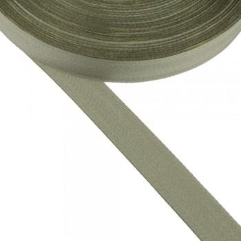 Φακαρόλα βαμβακερή χακί 25mm