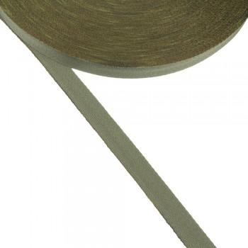 Φακαρόλα βαμβακερή χακί 15mm