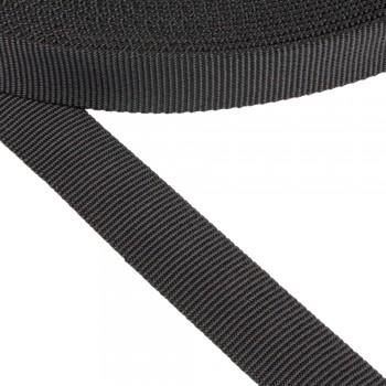 Ιμάντας σωλήνας συνθετικός μαύρος 25mm