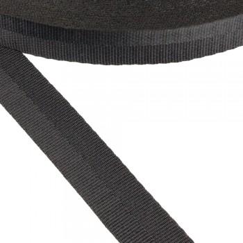 Ιμάντας συνθετικός μαύρος 20mm
