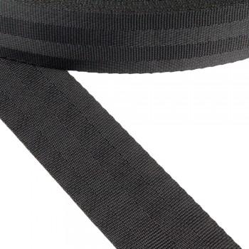 Ιμάντας συνθετικός μαύρος 40mm