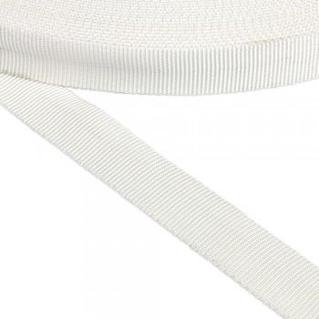 Ιμάντας σωλήνας συνθετικός λευκός 25mm