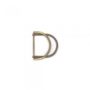 Αγκράφα μπρονζέ 40mm