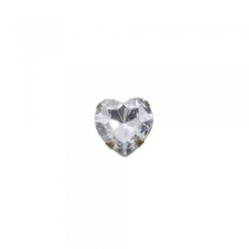 Διακοσμητική αγκράφα με σχέδιο καρδιά