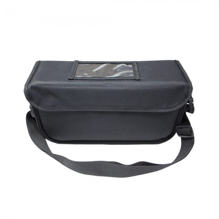 Ισοθερμική τσάντα delivery θερμόσακος μεταφοράς για φαγητό 9 λίτρα σε μαύρο χρώμα με ιμάντα +1,89 €