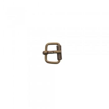 Αγκραφάκι μεταλλικό Μπρονζέ 15mm