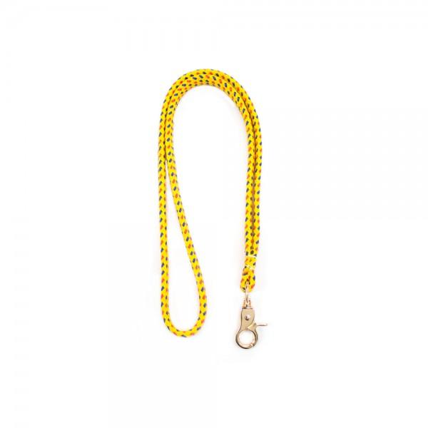 Μπρελόκ λαιμού για κλειδιά κίτρινο