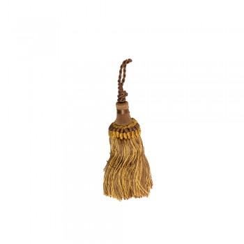 Φουντάκι χρυσό-καφέ 8cm