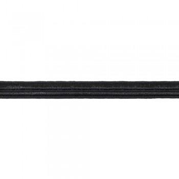 Κορδέλα ραιγιόν μαύρη 12mm