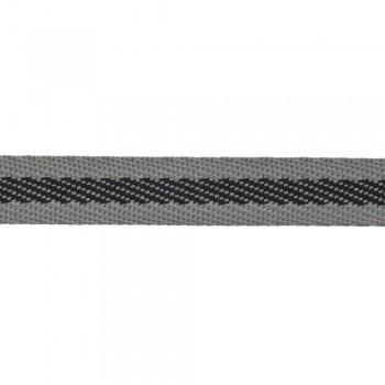 Φακαρόλα 10mm Γκρι με μαύρη ρίγα