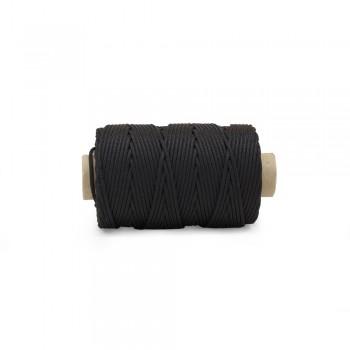 Κορδόνι συνθετικό 4mm Μαύρο