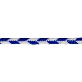 Σουτάζ Ραιγιόν πολυέστερ Λευκό - Μπλε 3.5mm